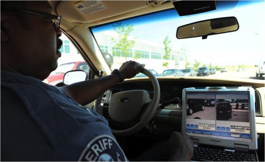 Cop Driving